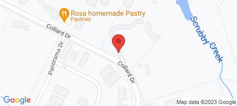 Location map for lot 1, 67 Collard Drive Diamond Creek