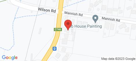 Location map for 556 Heidelberg-Kinglake Road Wattle Glen