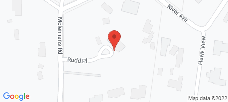 Location map for 2 Rudd Place Plenty