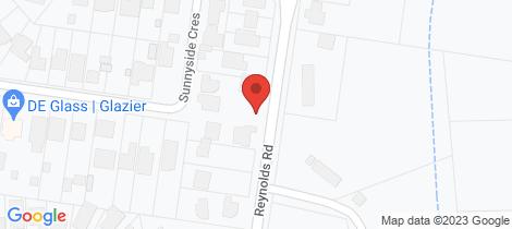 Location map for 36 Reynolds Road Wattle Glen