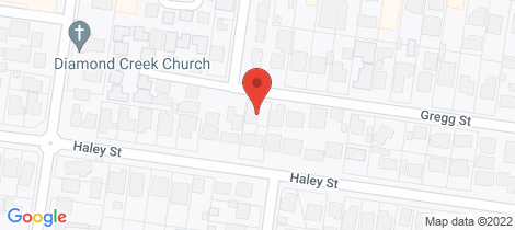 Location map for 31 Gregg Street Diamond Creek