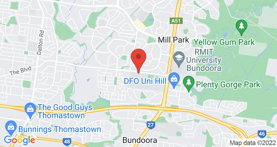 Google Map of UniLodge @ RMIT Bundoora - Walert House