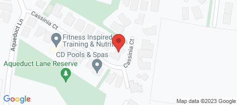 Location map for 9 Cassinia Court Diamond Creek