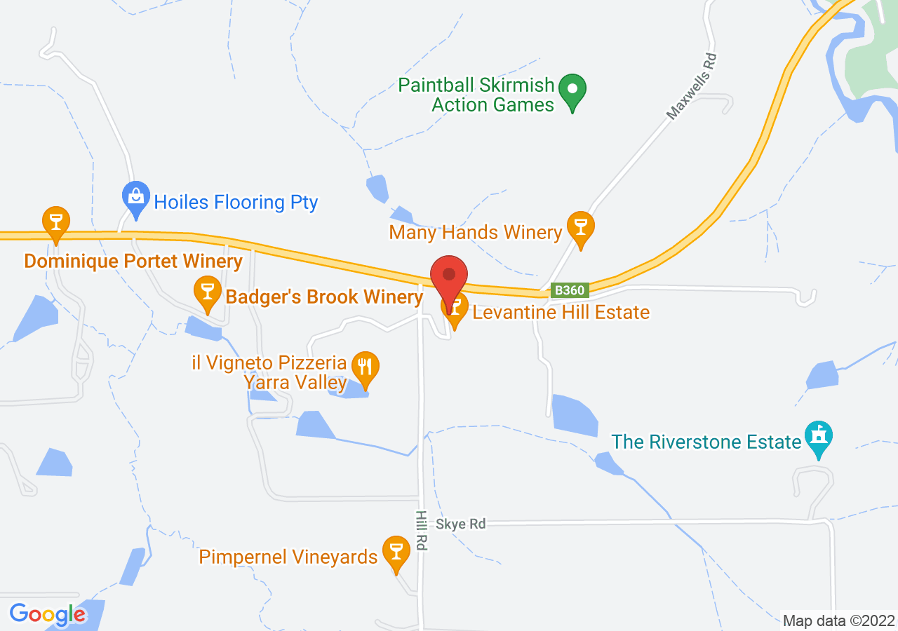 The location of Levantine Hill