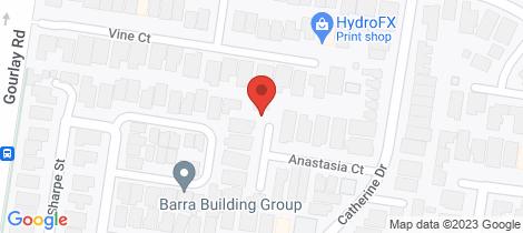 Location map for 2/9 Anastasia Court Hillside