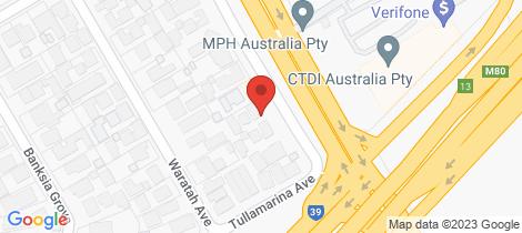 Location map for 2/123 Melrose Drive Tullamarine