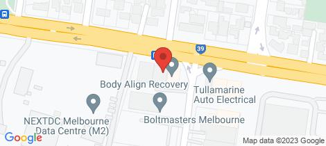Location map for 63A Sharps Road Tullamarine