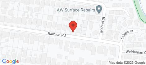 Location map for 10 Ramleh Road Reservoir