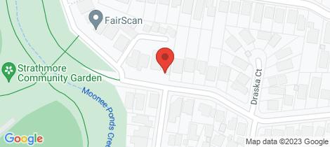 Location map for 96 Devereaux Street Oak Park