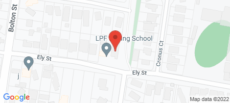 Location map for 17 Ely Street Eltham