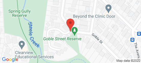 Location map for 17/25 Goble Street Niddrie