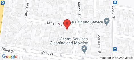 Location map for 1A Laha Crescent Preston