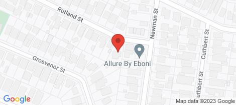 Location map for 1B Rutland Street Niddrie
