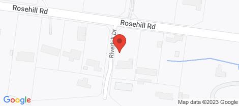Location map for 1 Riverhill Drive Lower Plenty