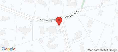 Location map for 10 Amberley Way Lower Plenty