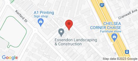Location map for 27 Orange Grove Essendon North