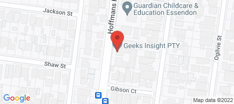 Location map for 8/130 Hoffmans Road Essendon
