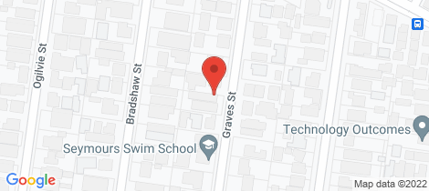 Location map for 3/13 Graves Street Essendon