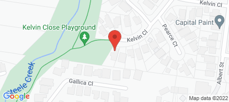 Location map for 21 Kelvin Close Niddrie