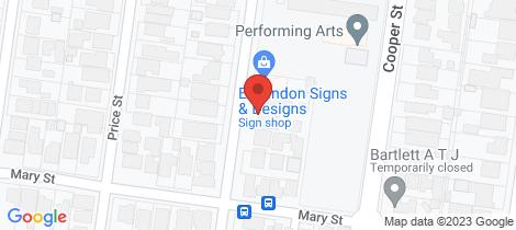 Location map for 76 Nimmo Street Essendon