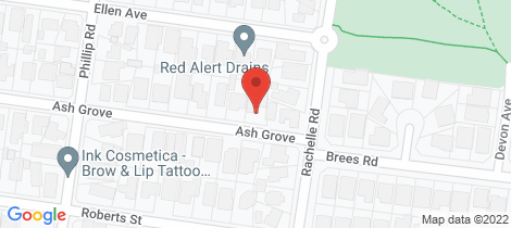 Location map for 2 Ash Grove Keilor East