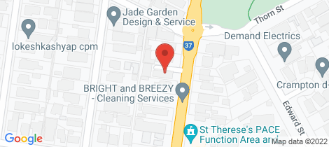 Location map for 3/75 Lincoln Road Essendon