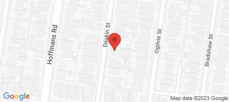 Location map for 2/38 Deakin Street Essendon