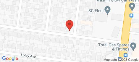 Location map for 1 Hay Street Preston