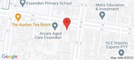 Location map for 8/29 Raleigh Street Essendon