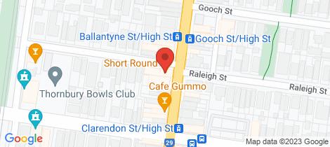 Location map for 731 High Street Thornbury