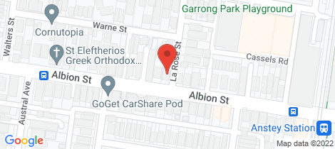 Location map for 257 Albion Street Brunswick