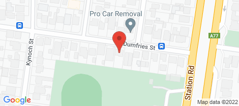 Location map for 15 Dumfries Street Deer Park