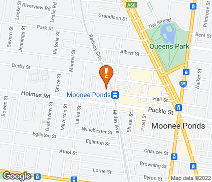 Map of 3/19 Norwood Crescent in Moonee Ponds