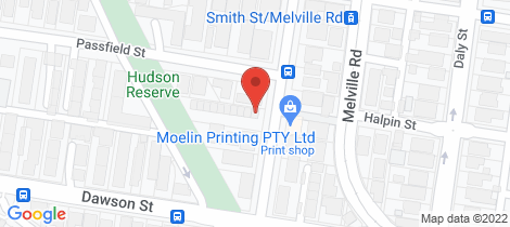 Location map for 5/3 Allard Street Brunswick West