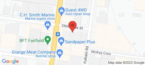Location map for 194 Christmas Street Alphington