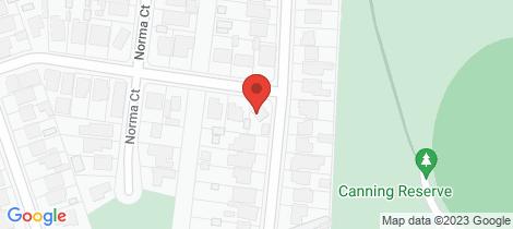 Location map for 1 McKenna Street Avondale Heights