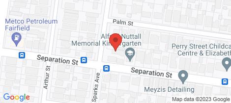Location map for 3/12 Sparks Avenue Fairfield
