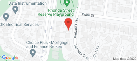 Location map for 69 Barbara Crescent Avondale Heights