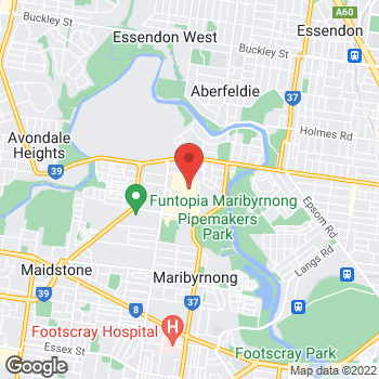 Map of Foot Locker Maribyrnong at Shop 2021/73 Highpoint Shopping Centre 120-200 Rosamond Road MARIBYRNONG  VIC  3032, Maribyrnong, VIC 3032