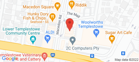 Location map for 10 Macedon Road Templestowe Lower