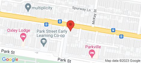 Location map for 8A Dollman Street Brunswick
