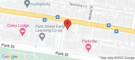 Location map for 6B Dollman Street Brunswick