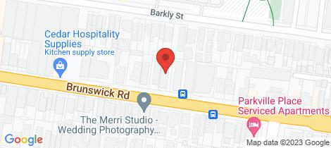 Location map for 8/203 Brunswick Road Brunswick