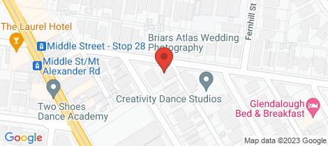 Location map for 35 Baroda Street Travancore