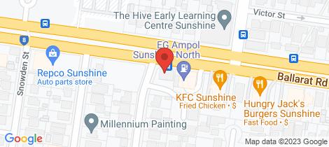 Location map for 19/437 Ballarat Road Sunshine