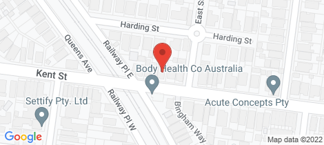 Location map for 62 Kent Street Ascot Vale