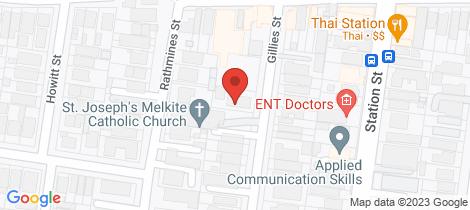 Location map for 8/42 Gillies Street Fairfield