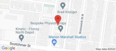 Location map for 4/430 Rae Street Fitzroy North