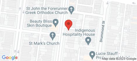 Location map for 6/980 Lygon Street Carlton North