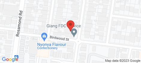 Location map for 1/18 Merlyn Street Maribyrnong
